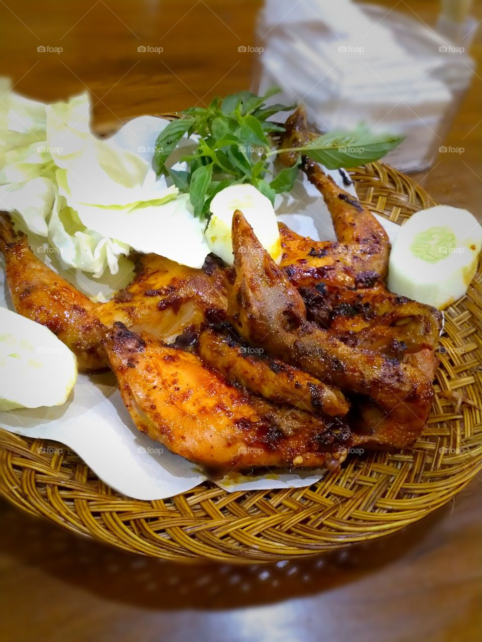 Indonesian food - Grilled Chicken