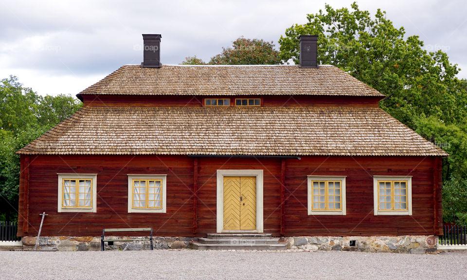 Vintage House in stockholm, sweden