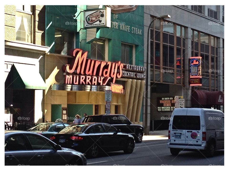 Murray's Famous Steakhouse, Minneapolis