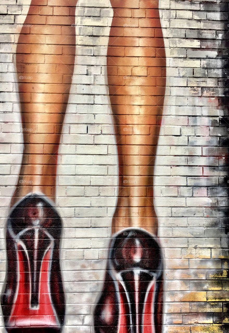 Before you criticize a woman, try walking in her high heels. -Ljupka Cvetanova.