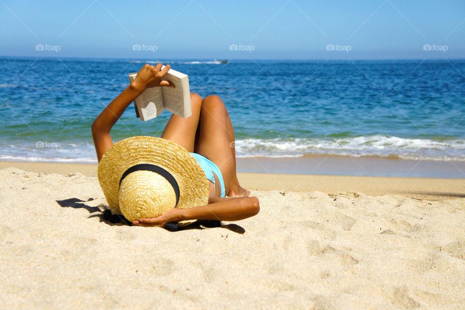 beach ocean girl woman by kbuntu
