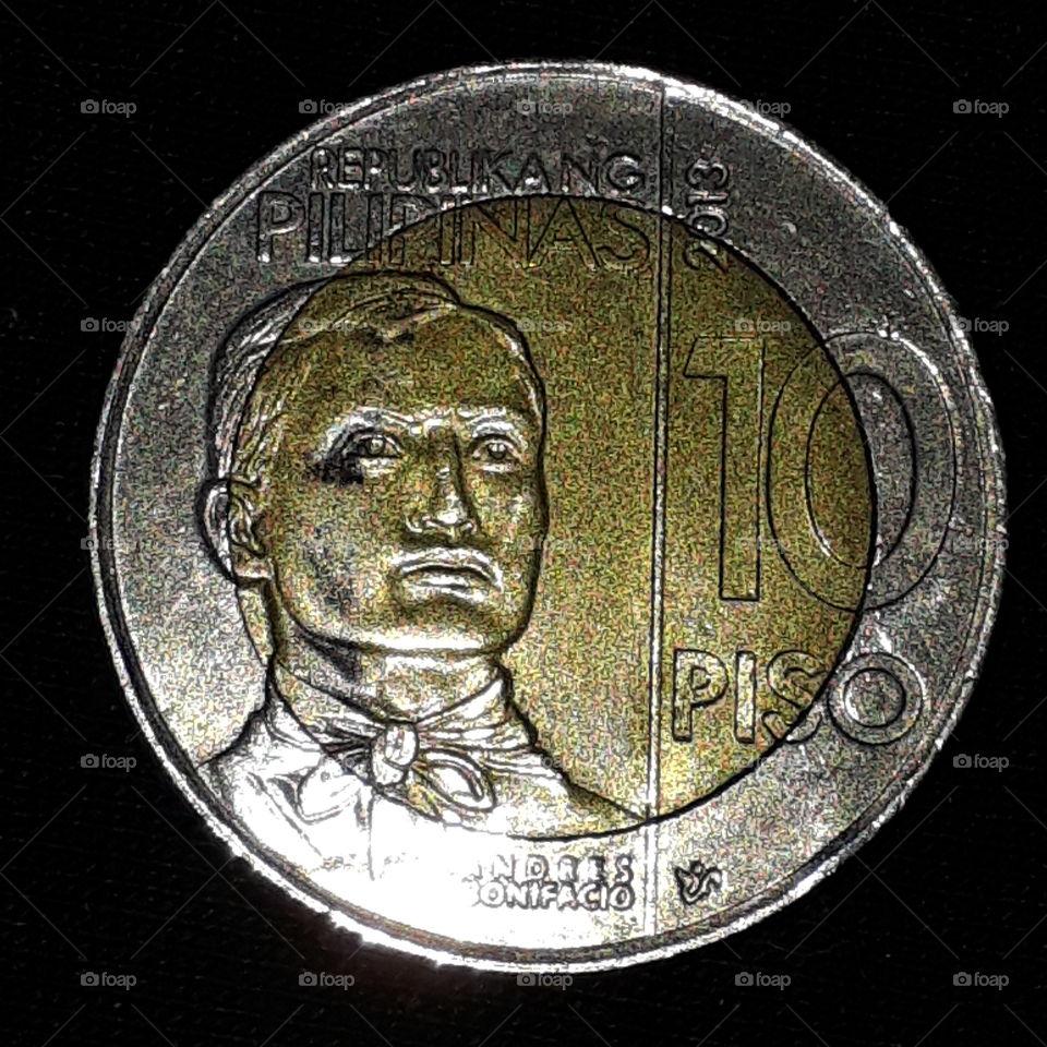 philippine 10 peso 2013