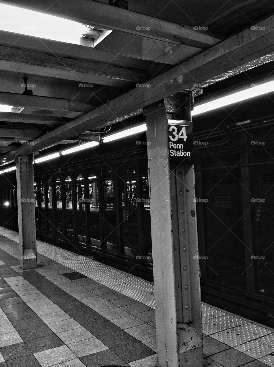 Penn Station Subway Stop