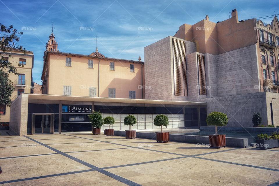 L'Almoina, Plaza Décimo Junio Bruto (Valencia - Spain)