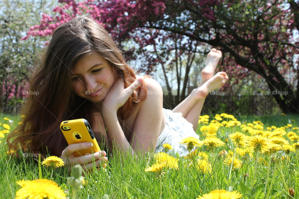 Capturing that Yellow Spring Feeling!