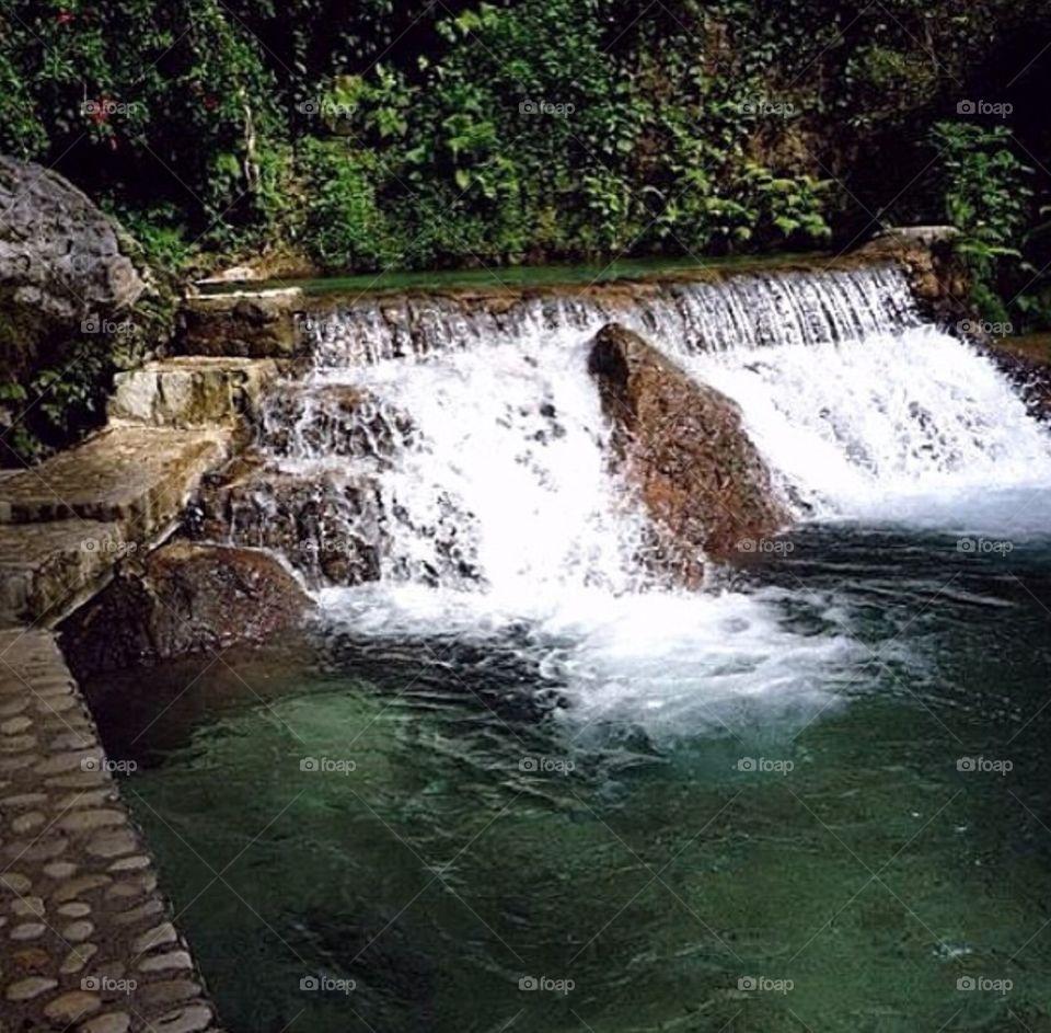 Waterfall, Water, Stream, River, Cascade