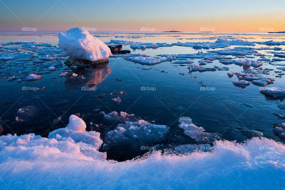winter sweden sunset sverige by stefanzander