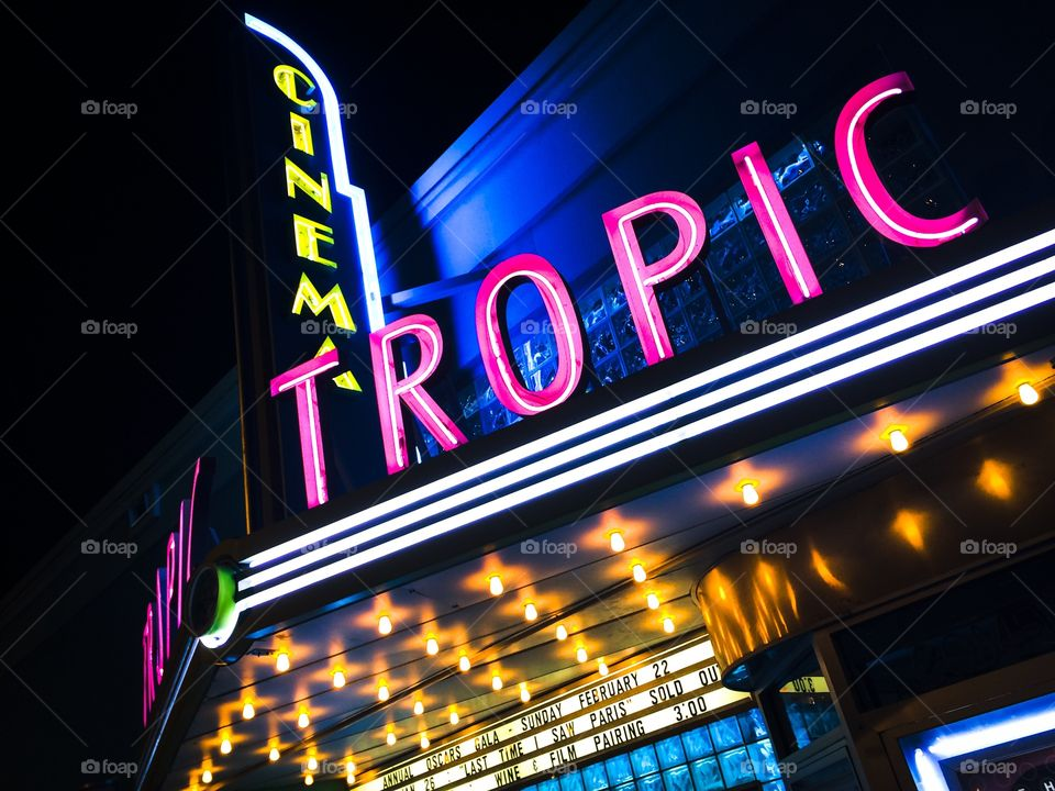 Tropic Cinema. Just off Duval Street, Key West.