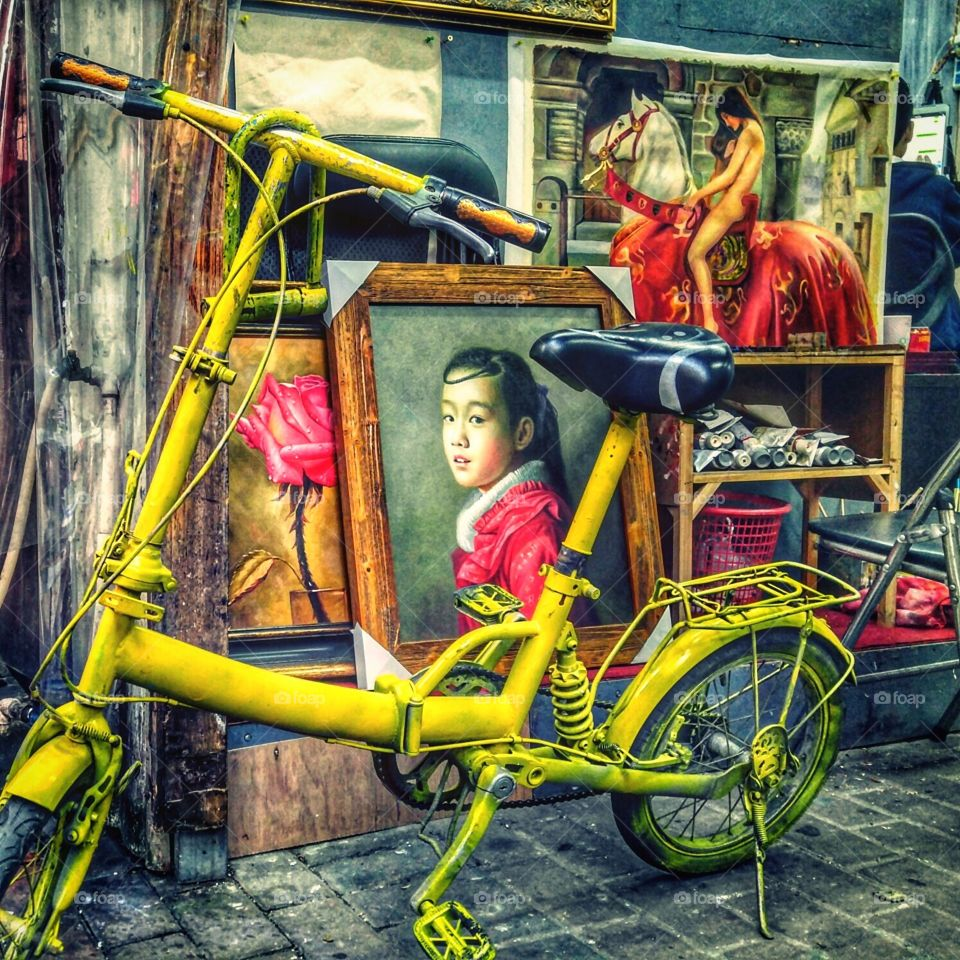 The Yellow Bicycle