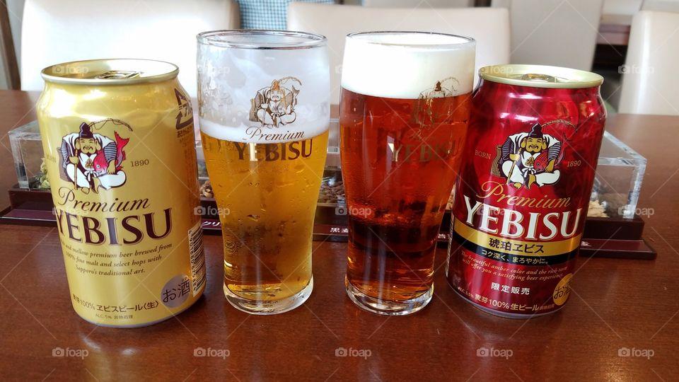 Japanese premium beer