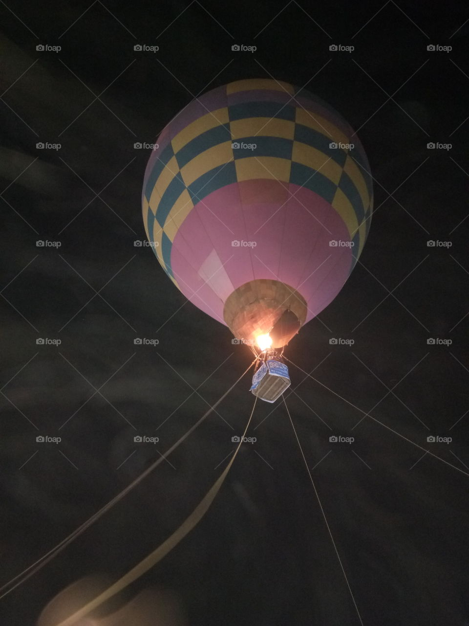 Ahot air balloonis alighter than airaircraft consisting of a bag, called an envelope, which contains heated air. Suspended beneath is agondolaorwicker basket(in some long-distance or high-altitude balloons, acapsule), which carries passengers and (usually) a source of heat, in most cases an open flame. The heated air inside the envelope makes itbuoyantsince it has alower densitythan the colder air outside the envelope. As with allaircraft, hot air balloons cannot fly beyond theatmosphere. Unlikegas balloons, the envelope does not have to be sealed at the bottom, since the air near the bottom of the envelope is at the same pressure as the surrounding air. In modern sport balloons the envelope is generally made fromnylonfabric and the inlet of the balloon (closest to the burner flame) is made from a fire resistant material such asNomex. Modern balloons have been made in all kinds of shapes, such as rocket ships and the shapes of various commercial products, though the traditional shape is used for most non-commercial, and many commercial, applications.  The hot air balloon is the first successful human-carryingflighttechnology. The first untethered manned hot air balloon flight was performed byJean-François Pilâtre de RozierandFrançois Laurent d'Arlandeson November 21, 1783, inParis,France,[1]in a balloon created by theMontgolfier brothers.[2]The first hot-air balloon flown in the Americas was launched from theWalnut Street Jailin Philadelphia on January 9, 1793 by the French aeronautJean Pierre Blanchard.[3]Hot air balloons that can be propelled through the air rather than simply drifting with thewindare known asthermal airships. Ahot air balloonis alighter than airaircraft consisting of a bag, called an envelope, which contains heated air. Suspended beneath is agondolaorwicker basket(in some long-distance or high-altitude balloons, acapsule), which carries passengers and (usually) a source of heat, in most cases an open..
