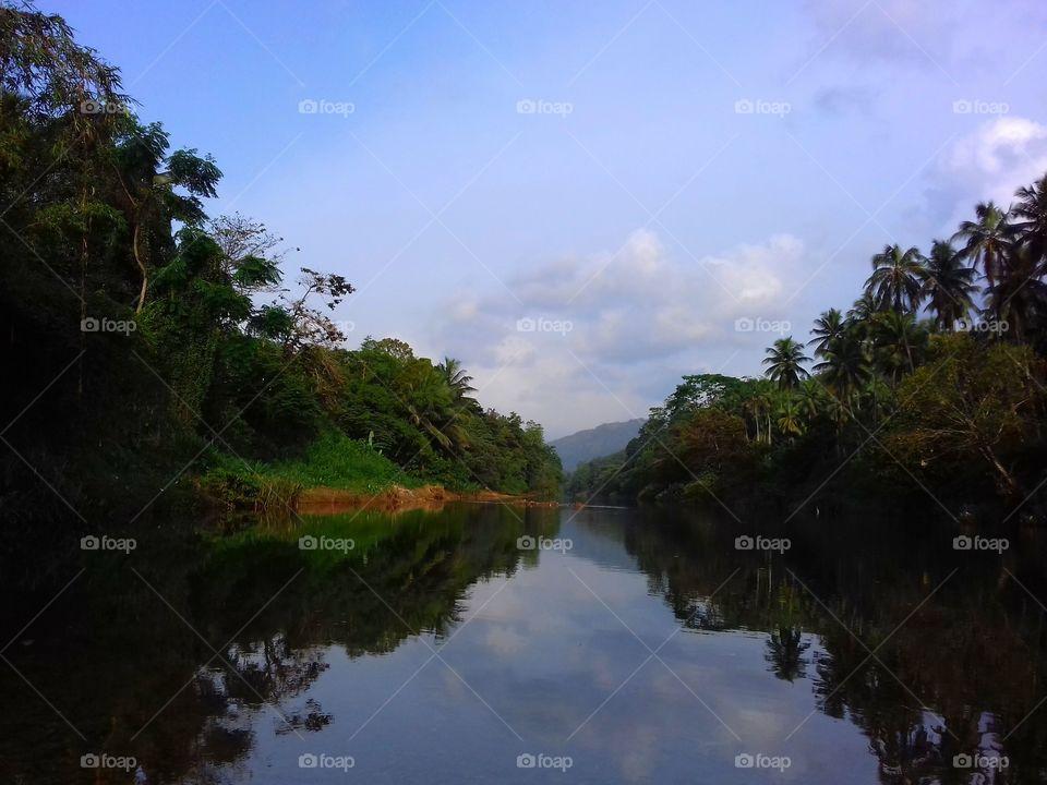 river like mirror