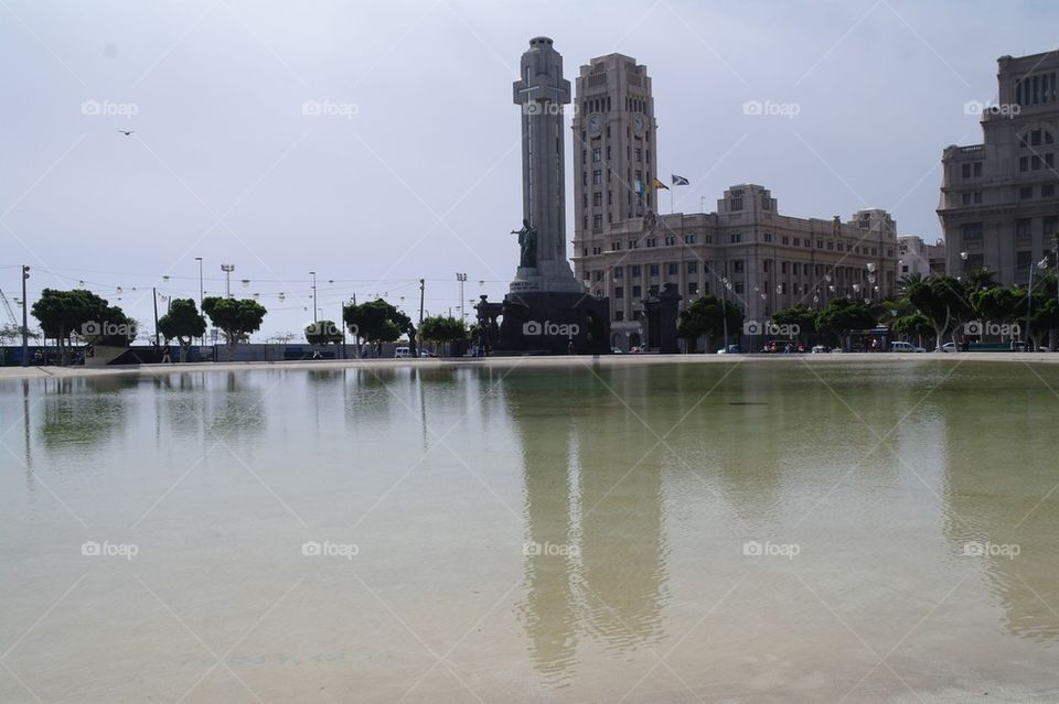 Santa Cruz Tenerife | city, pond, water, tourism