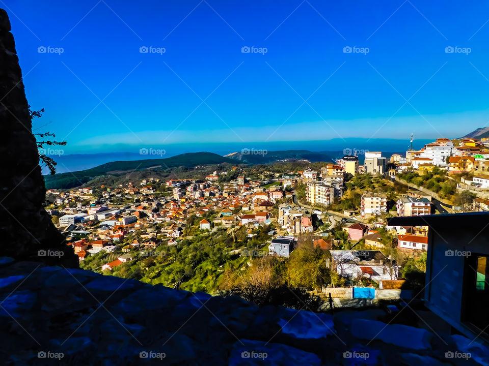Landscapes in Kruje Albania