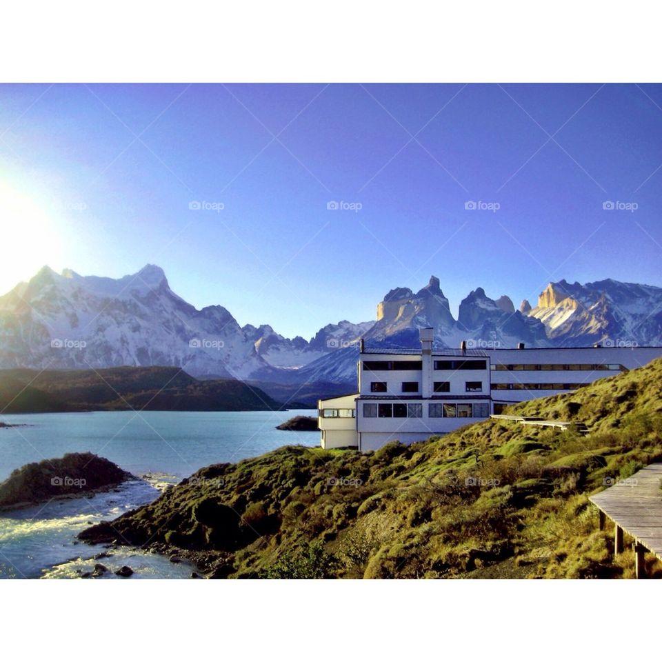 Hotel in torres del Paine
