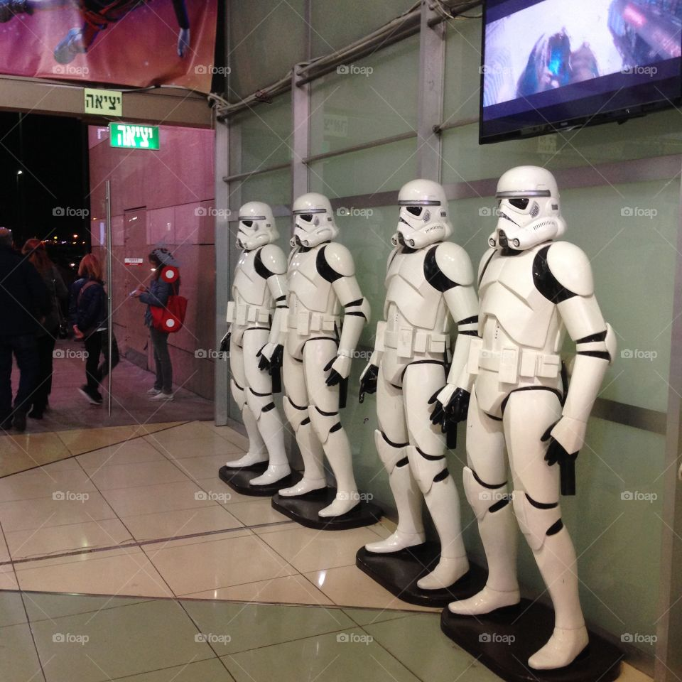 Star Wars soldiers