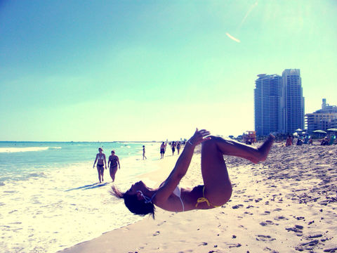 me gymnastics back tuck miami beach by r.epstein