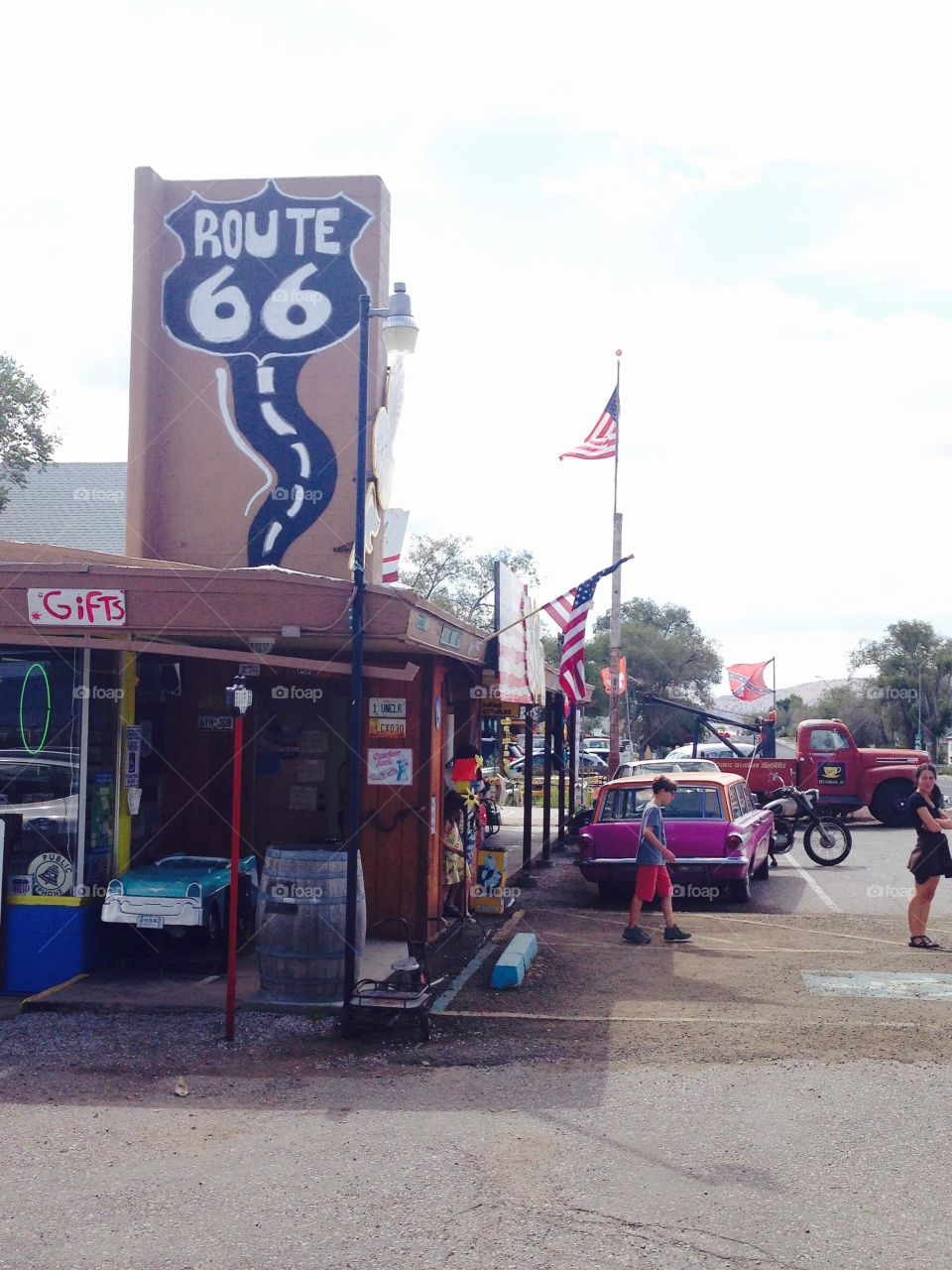 Beautiful stores on the route66 Arizona