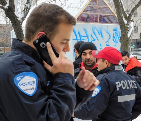 Montreal police using iPhone
