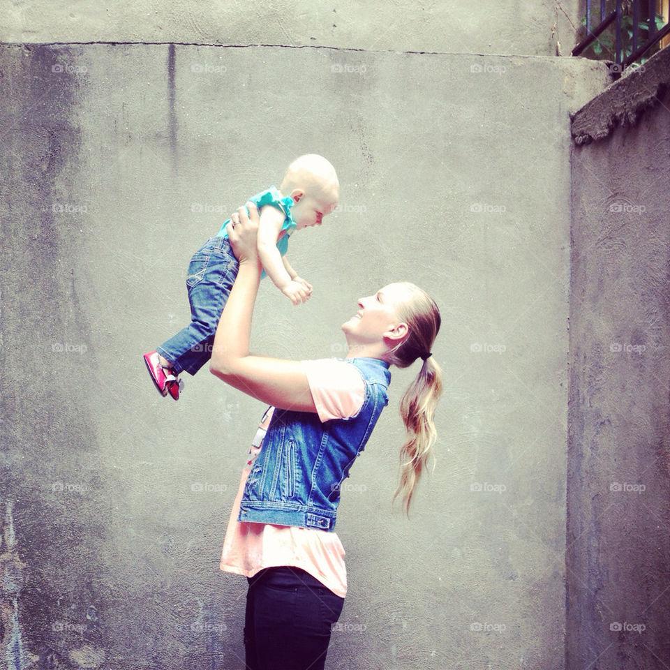 woman baby child love by nyberskan