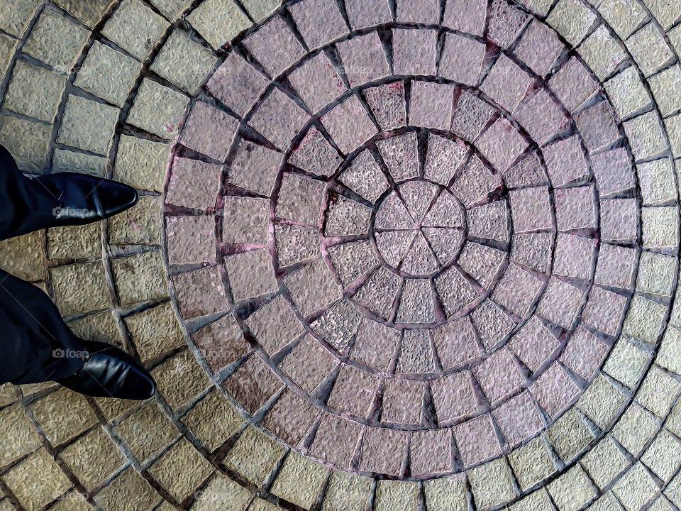 Follow my foot steps