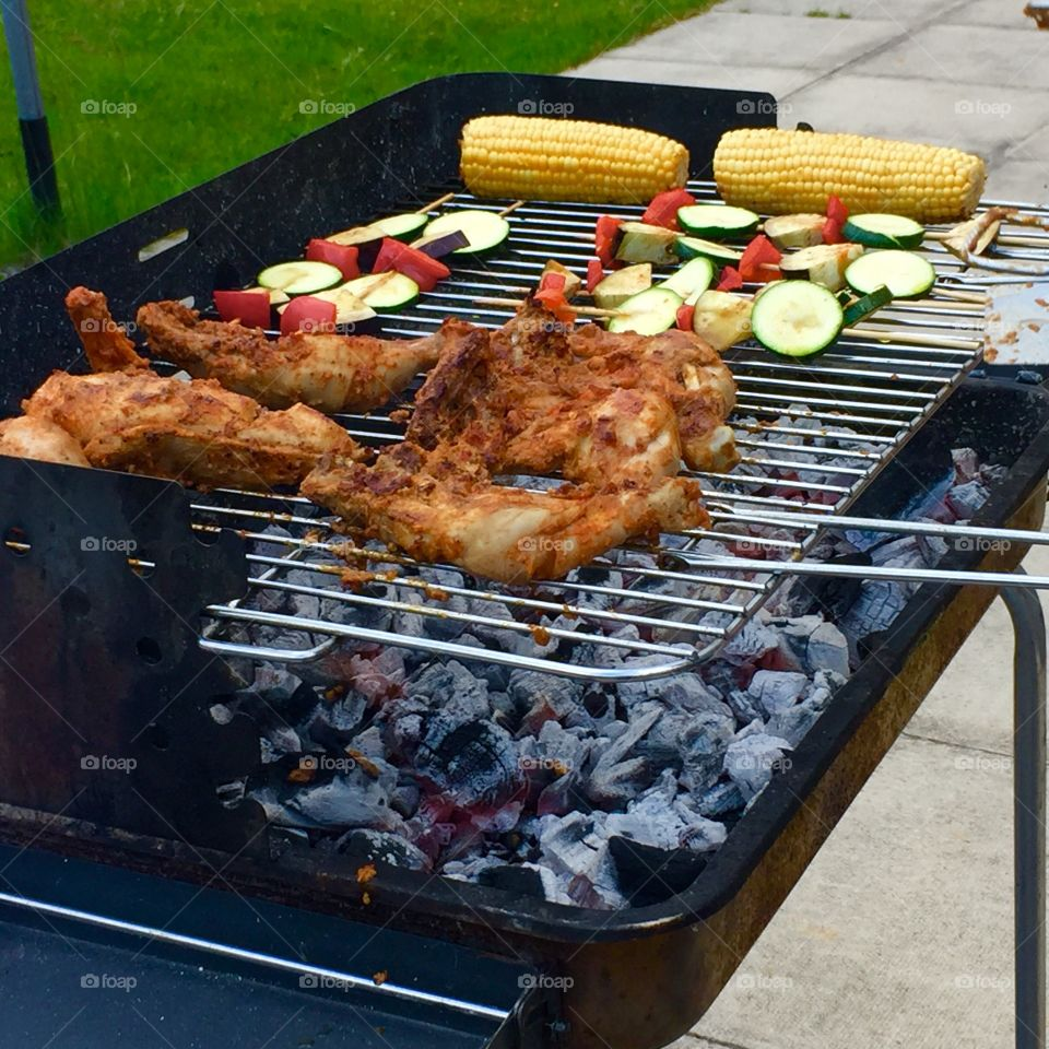 It's barbecue time
