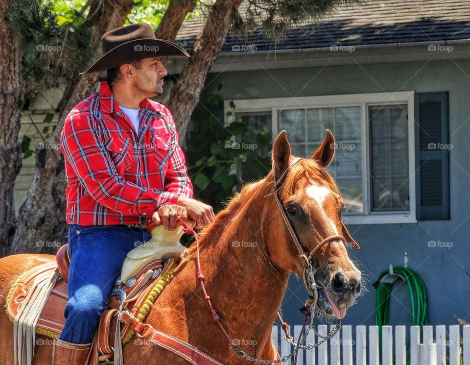 Handsome American Cowboy