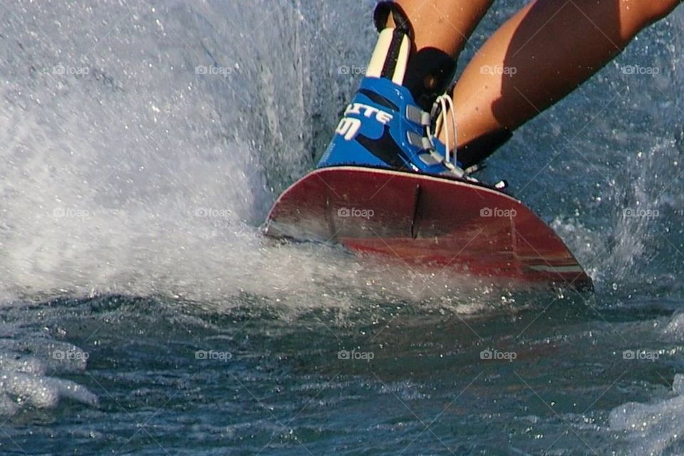 Wakeboard Fast Water