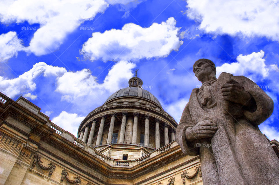 Pantheon with Jean-Jacques ROUSSEAU