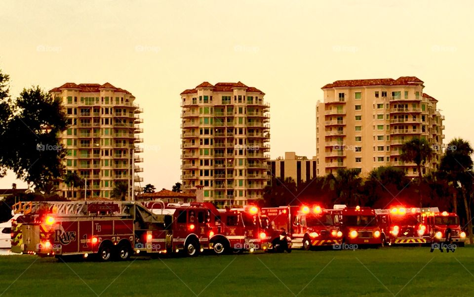 First responders, fire department 9/11