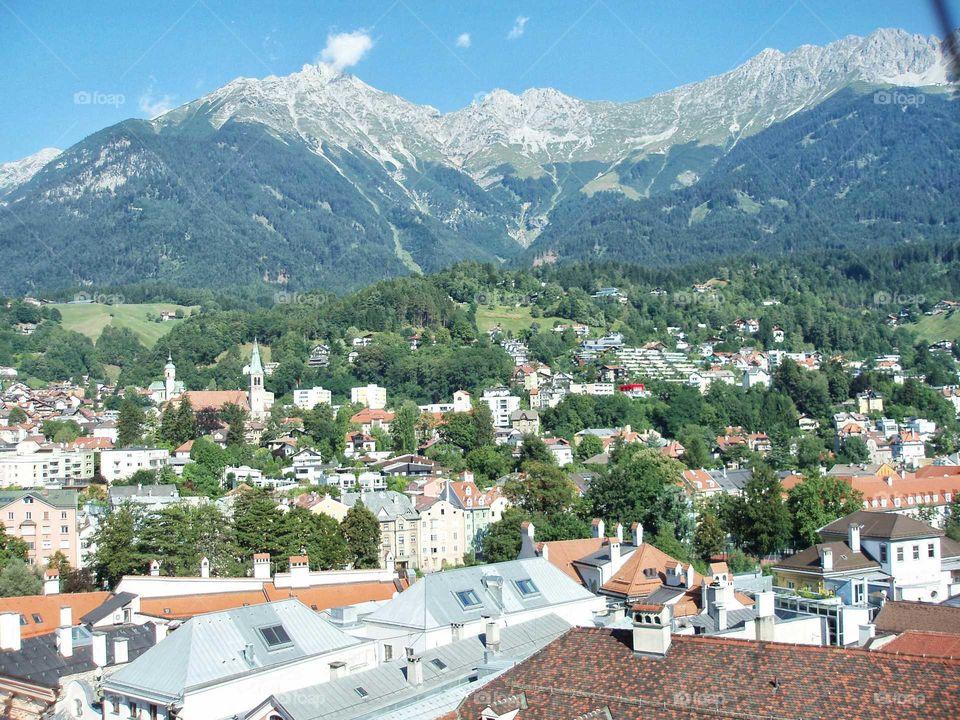Austria Innsbruck Alps