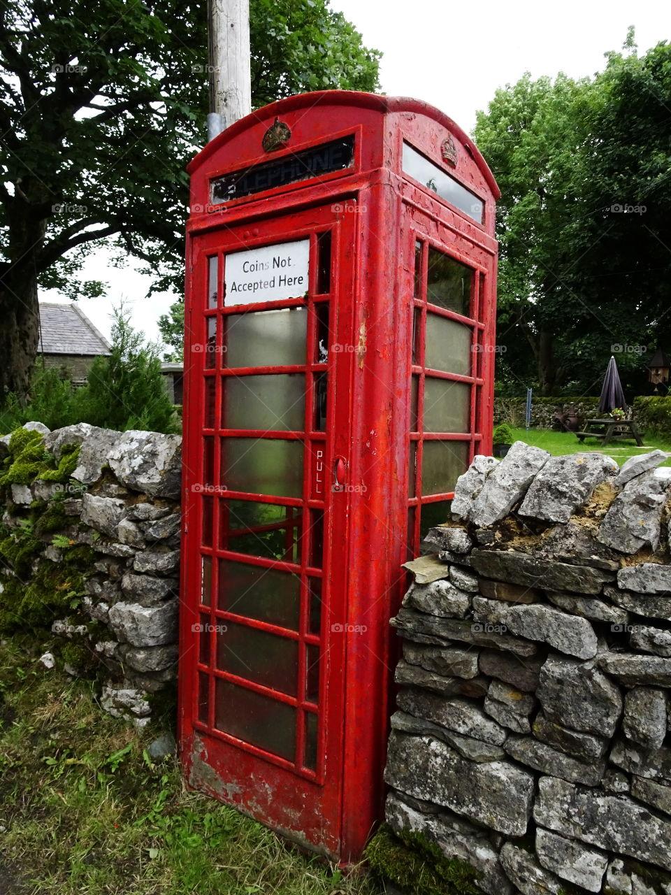 British red phone box