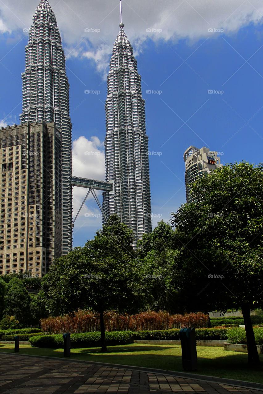 petronas. petronas tower