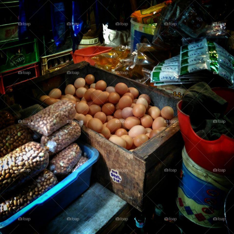 eggs at thomas market