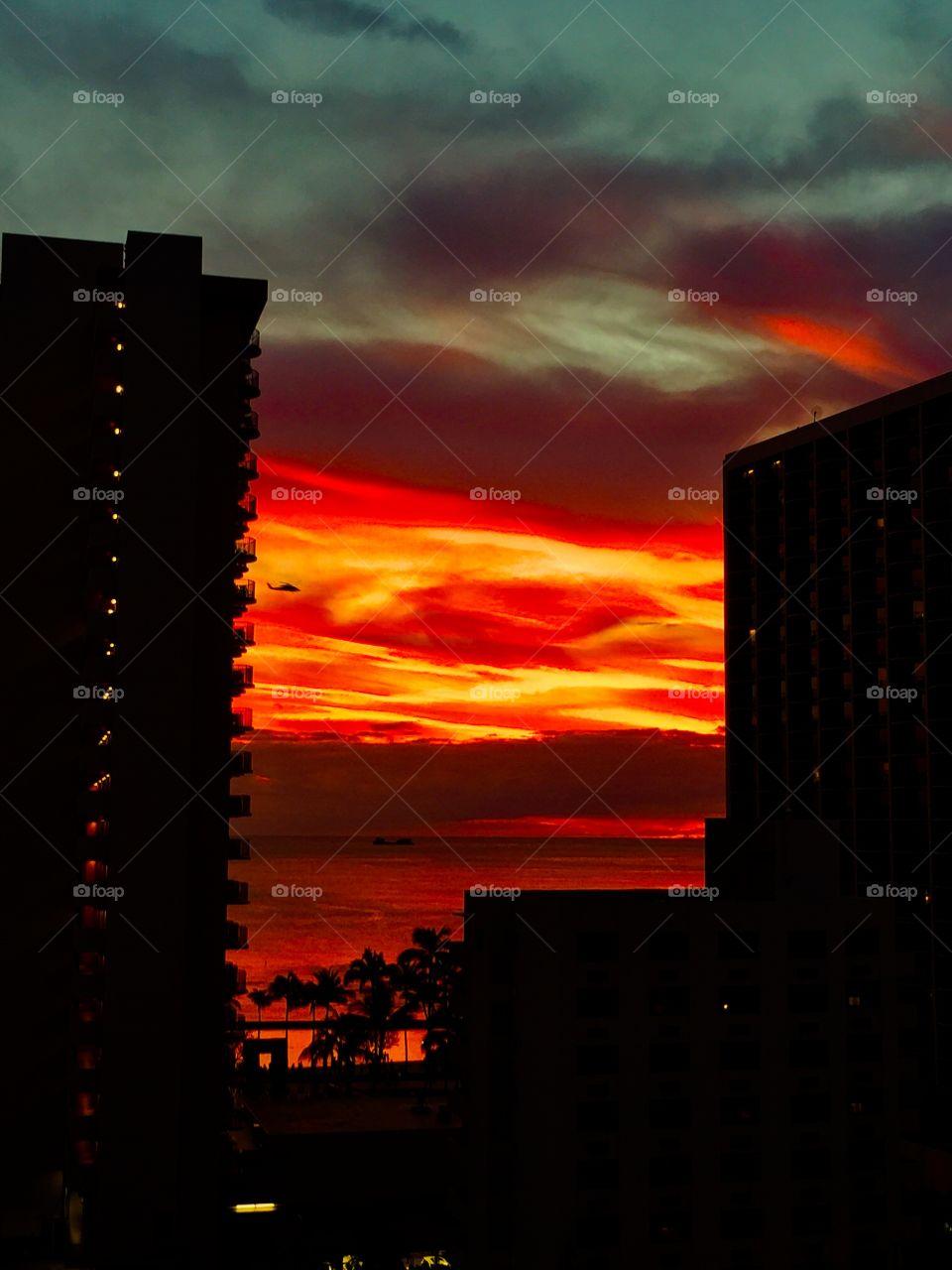 Sunsets and sailboats