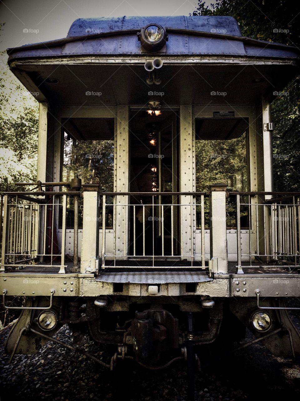 Train Parlor car