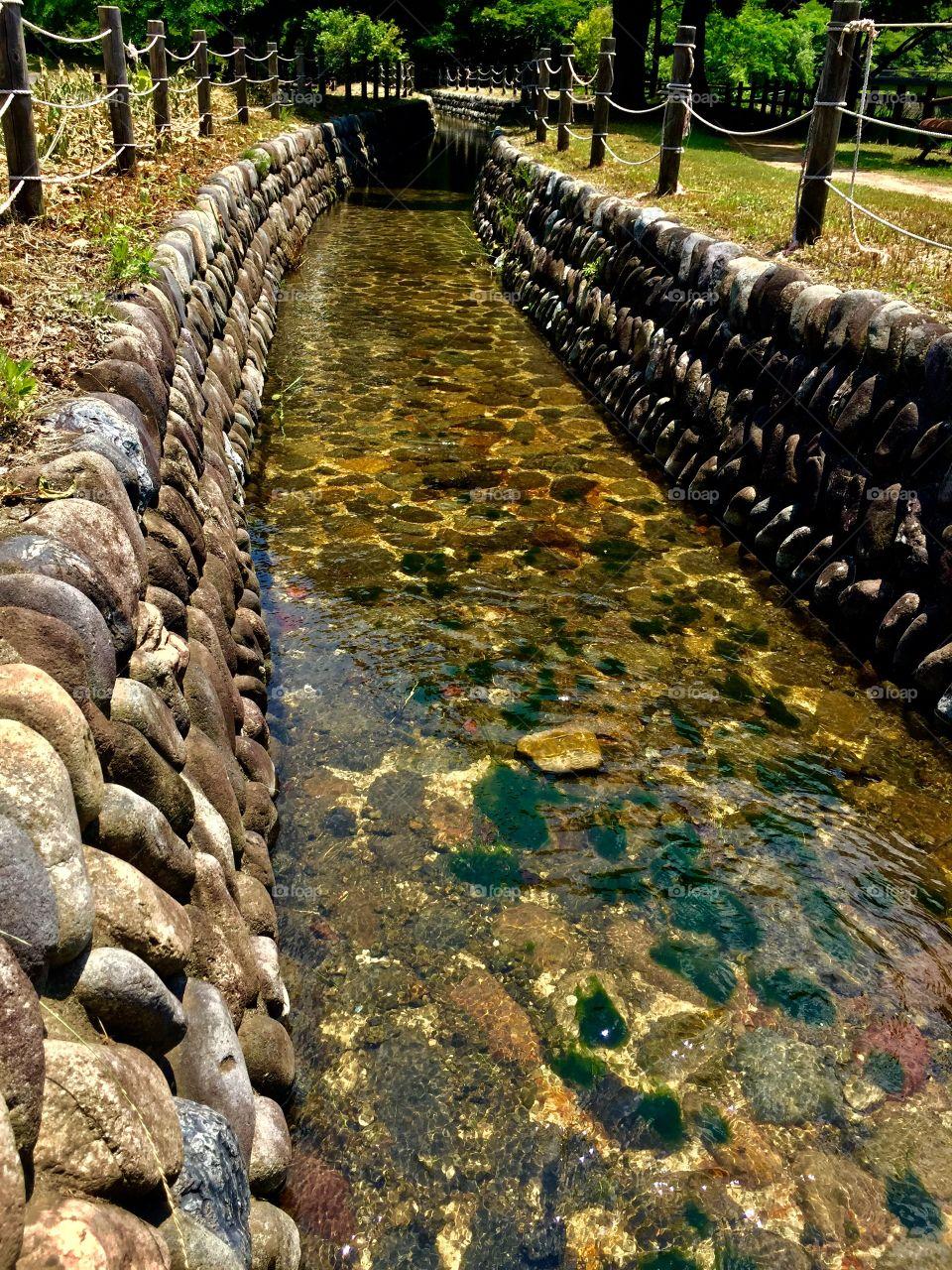 Follow The Water.  Showa Kinen Park.  Tachikawa, Japan