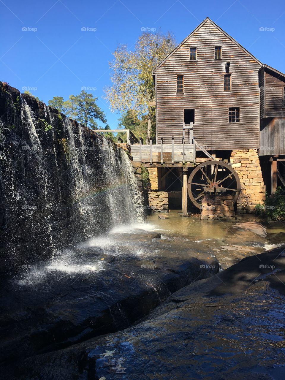 Historic Yates Mill in Raleigh North Carolina