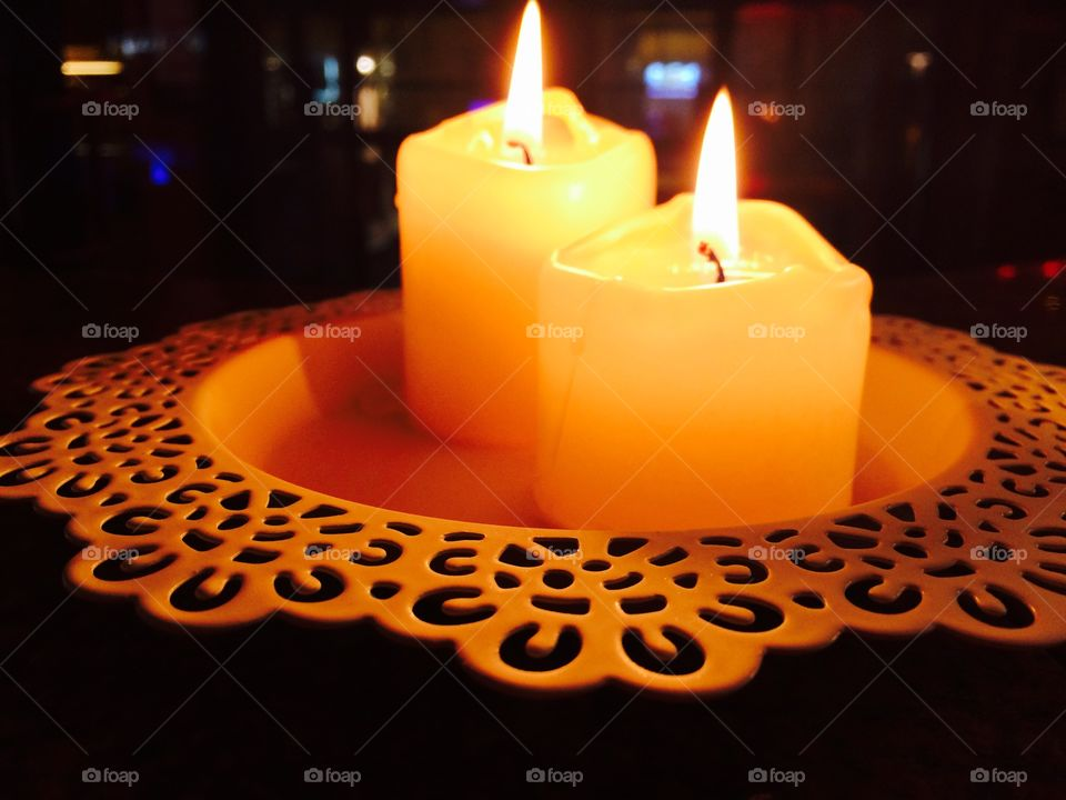 Candle, Candlelight, Wax, Flame, Burnt