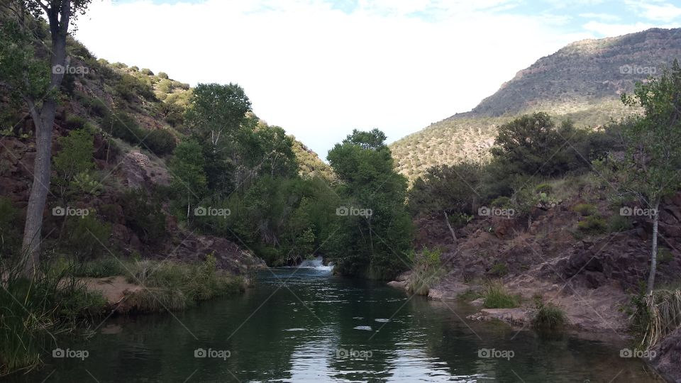 Fossil Creek swimming hole