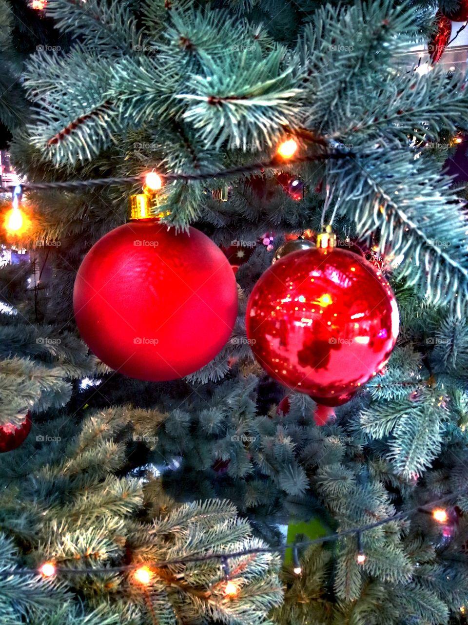 Christmas, Winter, Ball, Celebration, Shining