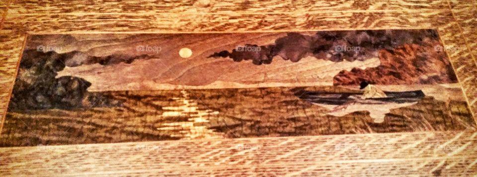 wooden species mix