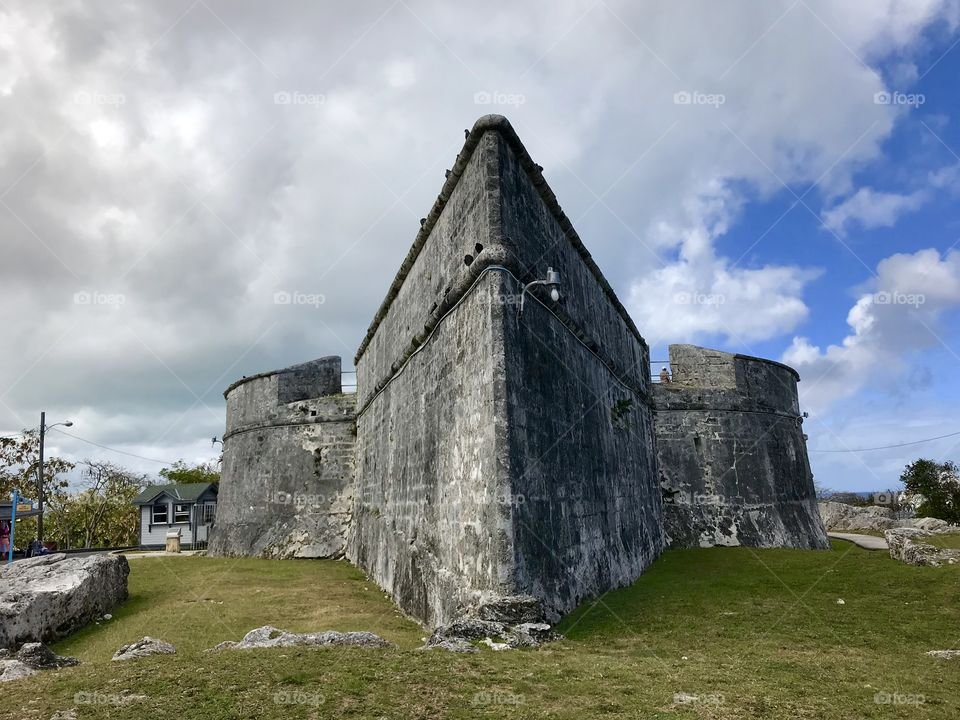 Fort Fincastle -located in the city of Nassau on the island of New Providence in The Bahamas. Built in 1793!